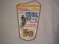 Wimpel Teuschenthal Motocross 1971