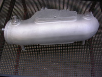 Abgaskrümmer Wartburg-Bootsmotor