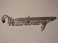 Wartburg-Schriftzug Kofferklappe 311/312/313
