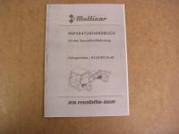 Multicar M25 / Achsgetriebe - Allrad (4x4) / MO. / 1986
