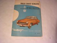 Rennprogramm Halle-Saale Schleife /1961