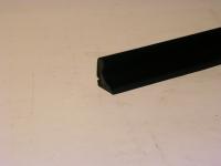 Abdichtprofil / 311/2 Verdeck / Seitenscheiben / Beflockt