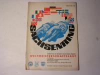 Programmheft / Sachsenring / 1963