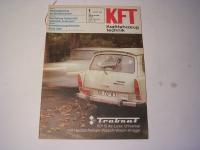 KFT Heft 1 / 1981 / Test 601 S-deluxe / Dacia 1300
