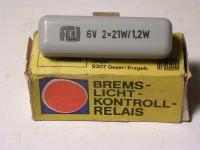 Bremslicht-Kontroll-Relais / 6V
