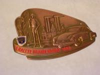 Plakette 1. Rallye Brandenburg 1958