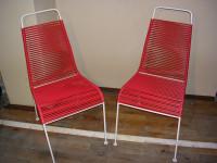 2 Stück Spagetti-Stühle