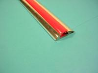 PVC-Keder für Zierleiste rot/Limo./Camping 311/312
