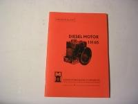Dieselmotor 1H65 / EL. / 1962