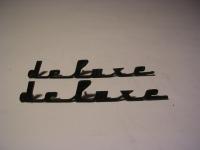 Deluxe - Schrift
