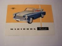 Prospekt Wartburg 311/2
