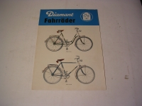 Prospekt Diamant-Fahrräder