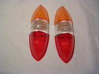 Rücklichtgläser 311/313 Rot-Weiß-Orange