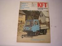 Kraftfahrzeugtechnik Heft 4 / 1981
