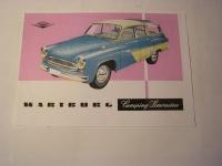 Prospekt Wartburg 311 Camping-Limousine / 1959