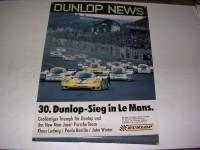 Poster / 30. Dunlop-Sieg in Le Mans