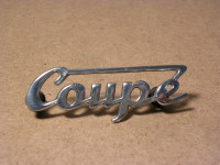 Coupe - Schriftzug - 311/3 - 300HT