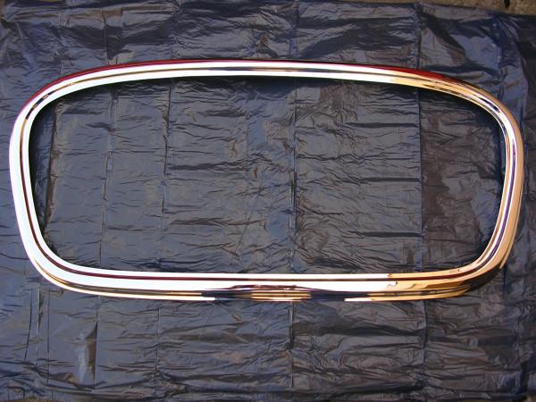 Chrom-Rahmen für Frontgrill / Barkas B-1000 / 1. Serie