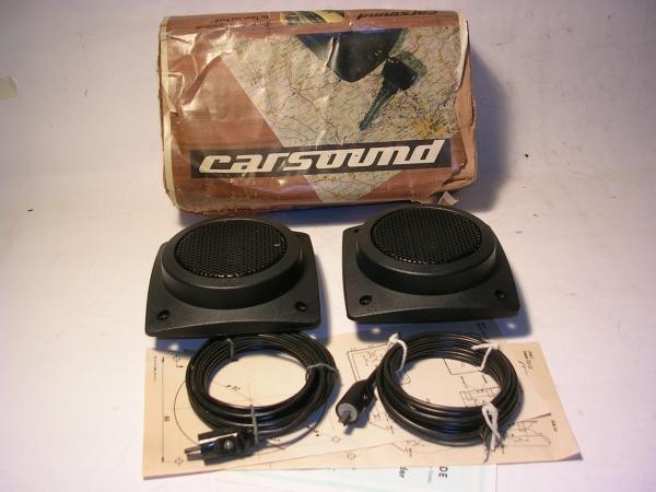 Carsound - Auto-Einbaulautsprecher
