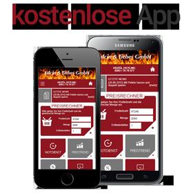 Mobile App für Android und iOS