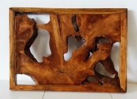 Wand-Dekoration Weda  70cm x 50cm x 5cm