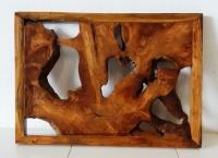 Wand-Dekoration Weda 120cm x 80cm x 5cm