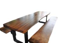 Set Tisch und 2 Bänke