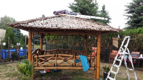 Pavillon bestellen und aufbauen lassen...von unserem Montage-Team!