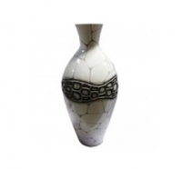 Vase Riss-Motiv 80cm
