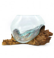 Glasgefäß Karaa 15cm