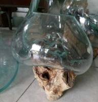 Glasgefäß Karaa 25cm