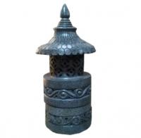 Gartenlampe rund 100cm