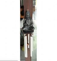 Windspiel Metall Buddha 30cm
