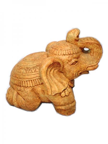 Statue Elefant Thai hell 30cm