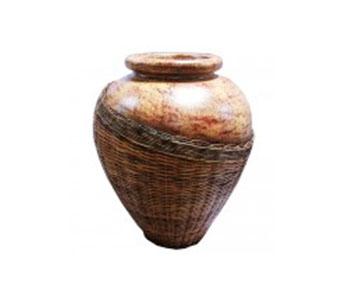 Vase Rattan 70cm
