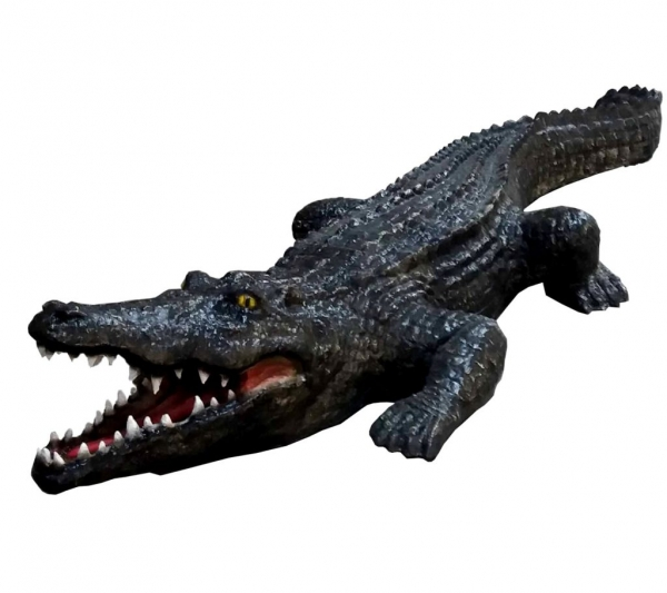 Krokodil Statue 270x90x45cm