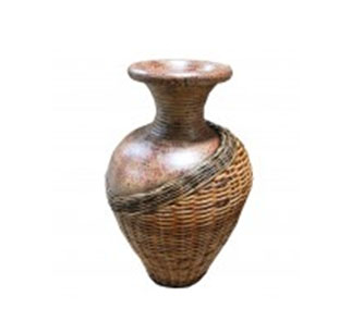 Vase Rattan 80cm