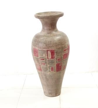 Vase Square Motiv 80x35x35cm