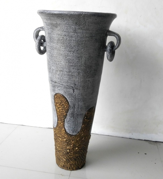 Vase grey 100cm