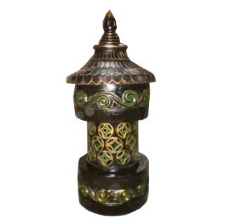 Gartenlampe rund 95cm