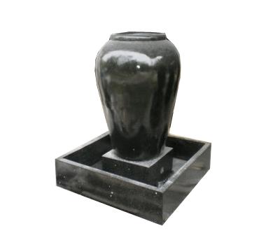 Vase quadratische Basis 130cm