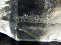 Zepter Bergkristall mit Einschlüssen