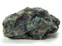 Mahagoni Obsidian Doppelender 8cm