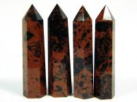 Mahagoni Obsidian Kristall poliert