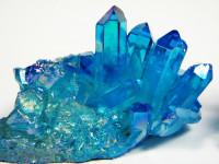 Aqua Aura Bergkristallstufe