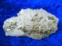 Bergkristall Stufe mit Pyrit aus Marokko 20cm