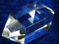 Doppelpyramiden Kristall