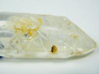 Bergkristall Dreifach-Doppelender mit Libelle