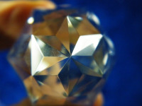 Purana Phi-Kristall 108-seitig