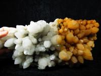 Bergkristall Stufe 2,3kg mit Golden Healer
